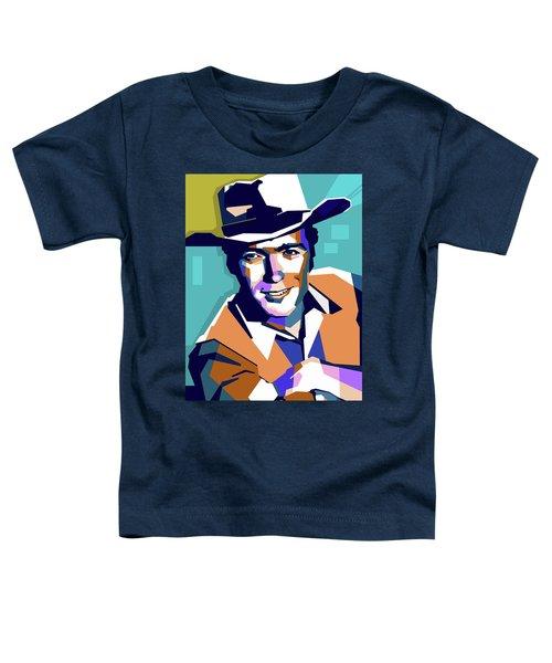 Clint Eastwood Toddler T-Shirt