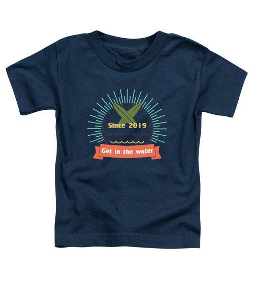Colorful Clown Triggerfish Portrait Toddler T-Shirt
