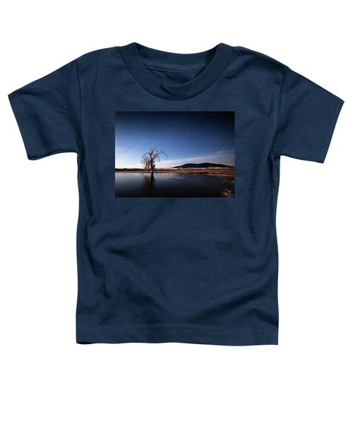 Cottonwood Under Moonlight Toddler T-Shirt
