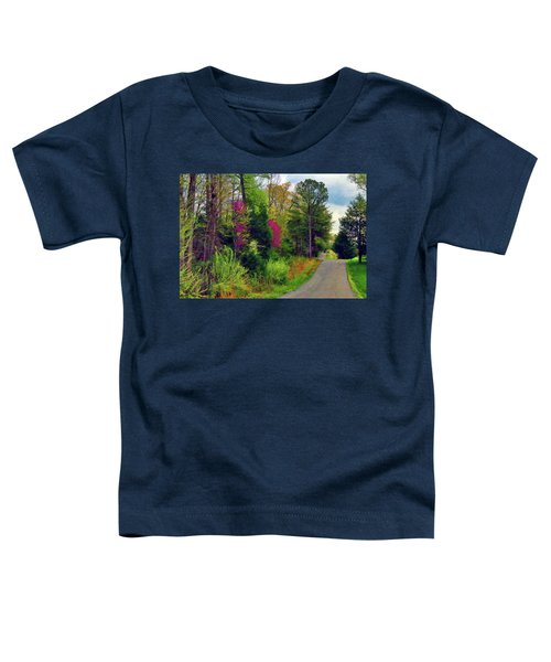 Country Road Take Me Home Toddler T-Shirt