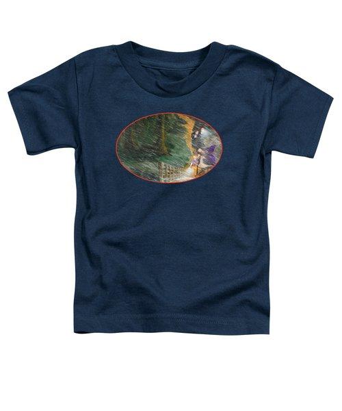 Crossing Timber Bridge Toddler T-Shirt