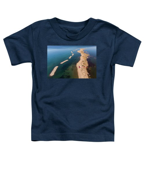 Dashed Line Toddler T-Shirt
