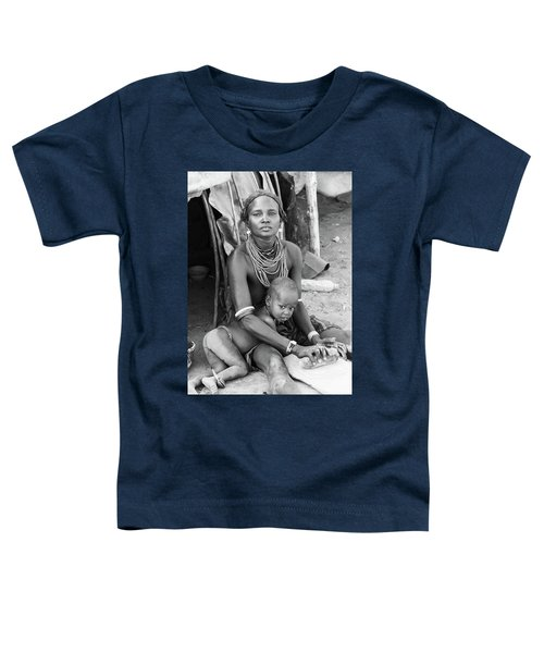 Dassanech Mother And Child Toddler T-Shirt