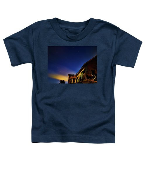 Decaying House In The Moonlight Toddler T-Shirt