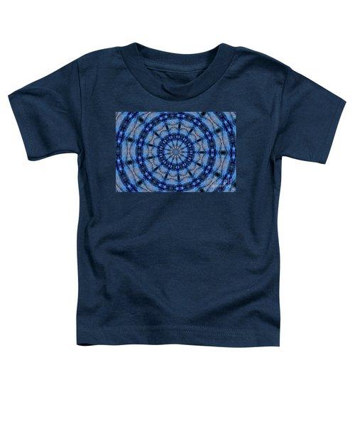 Blue Jay Mandala Toddler T-Shirt