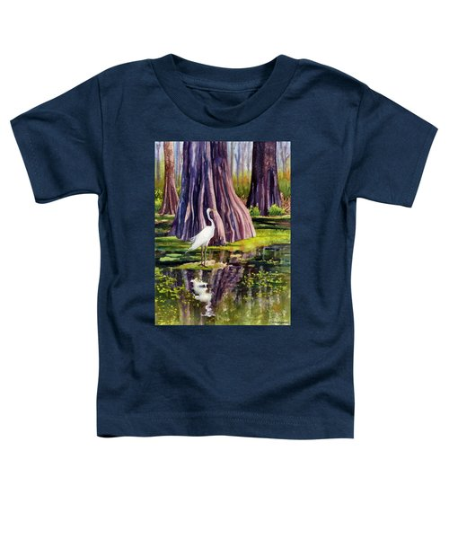 Down In The Swamplands Toddler T-Shirt