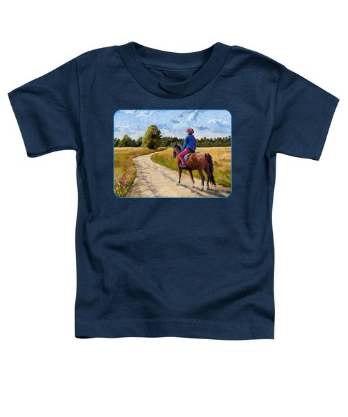 Easy Ride Afternoon Toddler T-Shirt