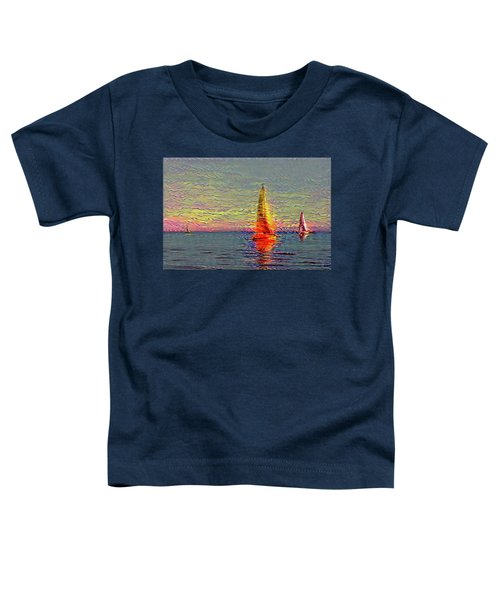 Fiery Kiss Toddler T-Shirt