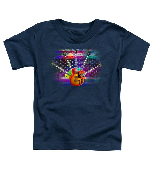 Five Guitars Toddler T-Shirt