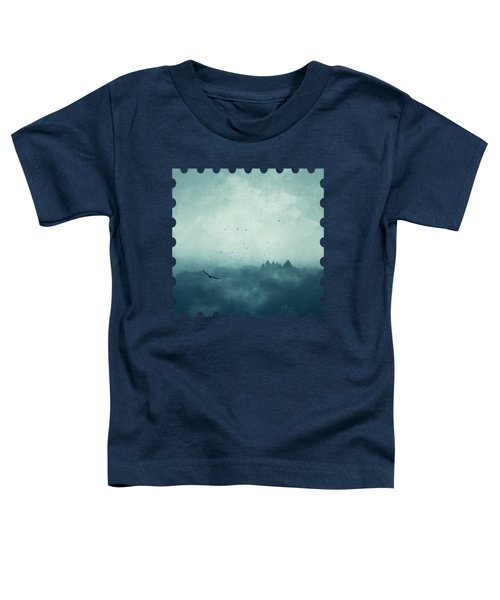 Flight Home - Mist Over Landscape Toddler T-Shirt