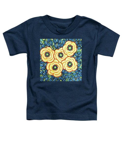 Floral Whimsy 7 Toddler T-Shirt