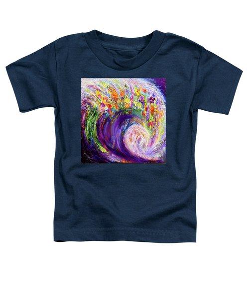 Flower Wave Toddler T-Shirt