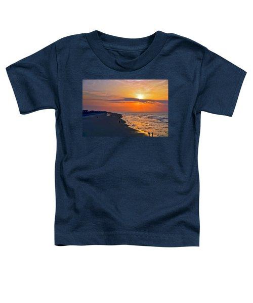Folly Beach Sunrise Toddler T-Shirt