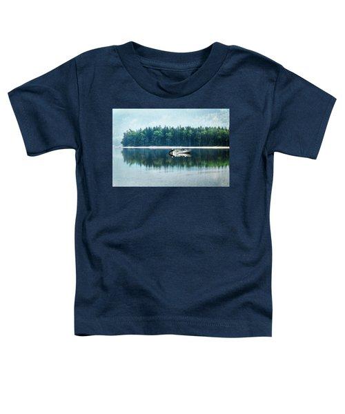 Glacier National Park Lake Reflections Toddler T-Shirt