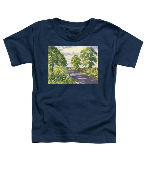 Hedgerows On Rudston Road Toddler T-Shirt