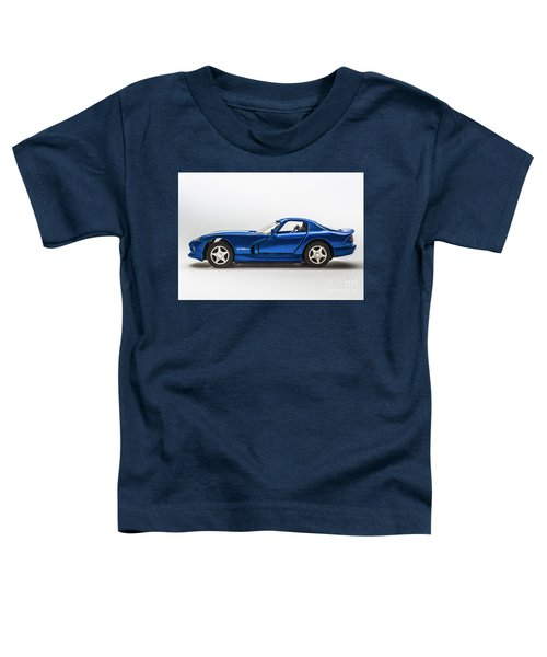 In Race Blue Toddler T-Shirt