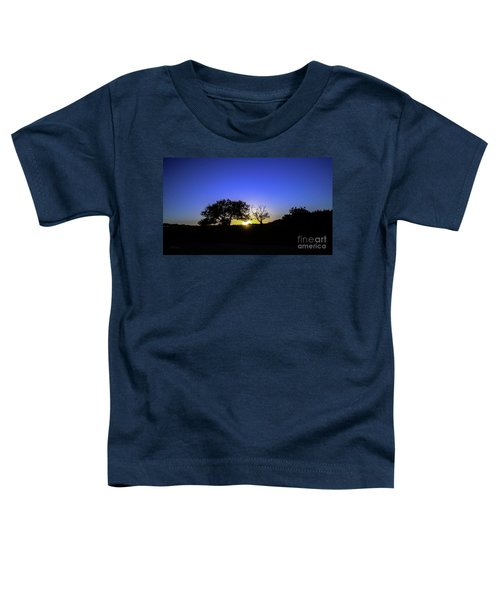 Last Light Texas Hill Country Paradise Canyon Sunset 8053a Toddler T-Shirt
