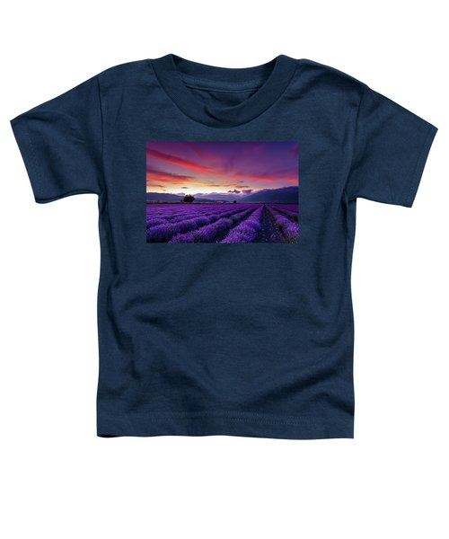 Lavender Season Toddler T-Shirt