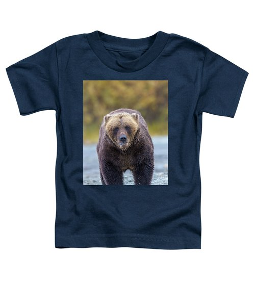 Lazy C Angry Bear  Toddler T-Shirt