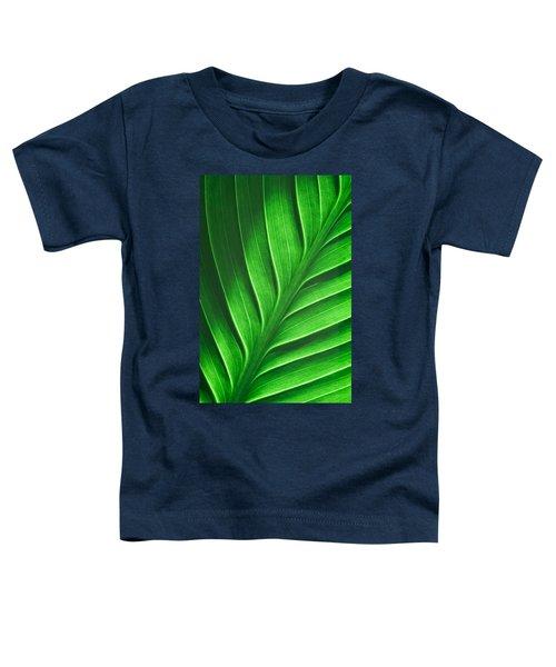 Leaf Pattern Toddler T-Shirt