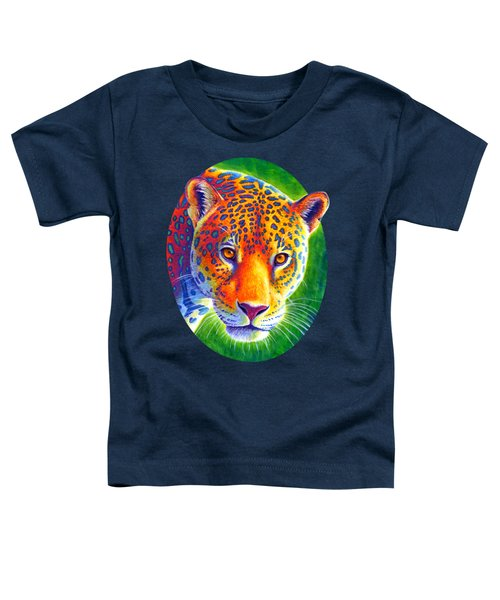 Light In The Rainforest - Jaguar Toddler T-Shirt