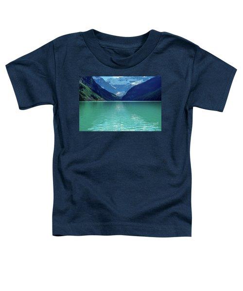 Magic At Lake Louise Toddler T-Shirt