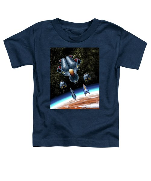 Mangle Approaches Nisip Toddler T-Shirt