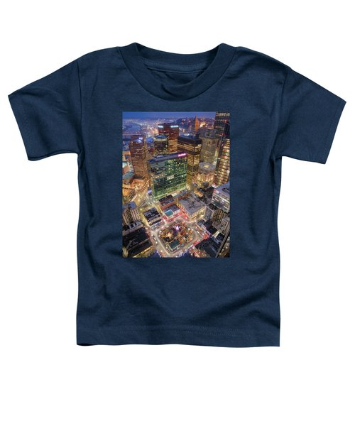 Market Square From Above  Toddler T-Shirt