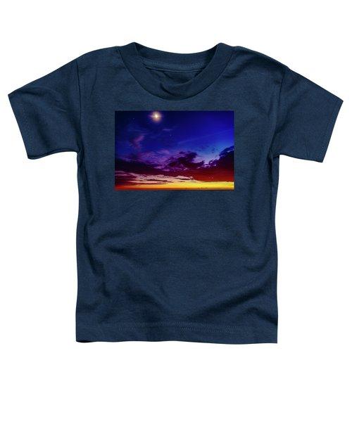 Moon Sky Toddler T-Shirt