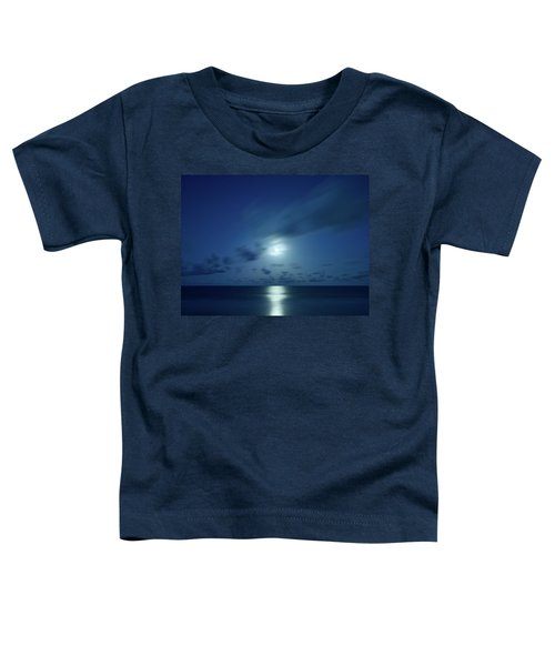 Moonrise Over The Sea Toddler T-Shirt