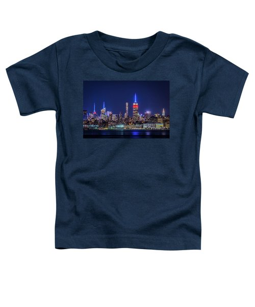 Nyc At The Blue Hour Toddler T-Shirt