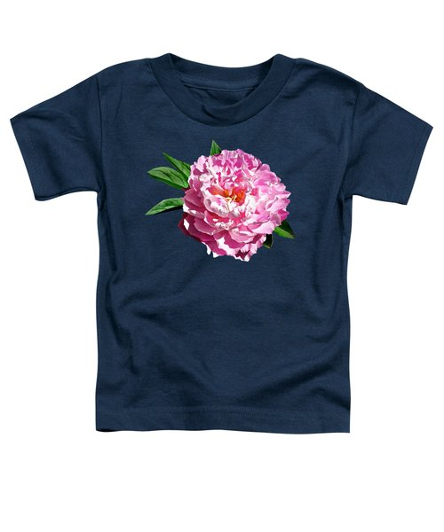 One Pale Pink Peony Toddler T-Shirt