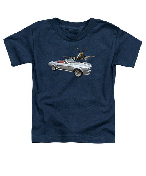 P51 Meets Eleanor Toddler T-Shirt