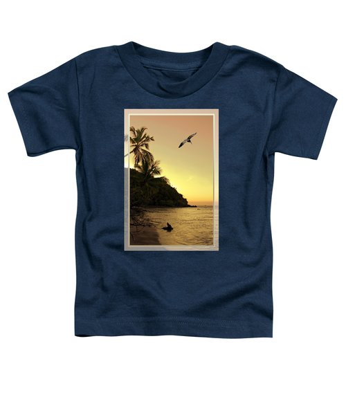 Pelican Sundown Toddler T-Shirt