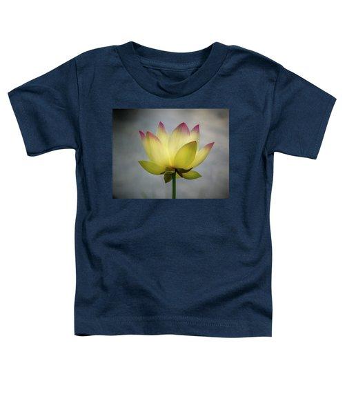 Pink Tipped Lotus Toddler T-Shirt