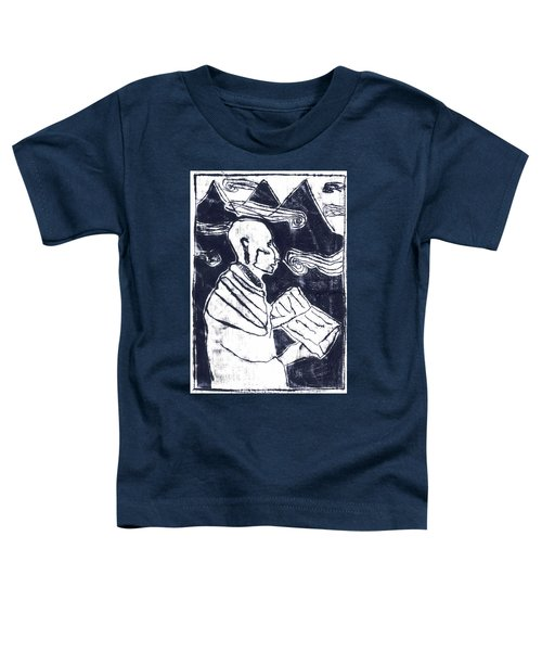 Poet Reading To Wind Clouds Otdv3 13 Toddler T-Shirt