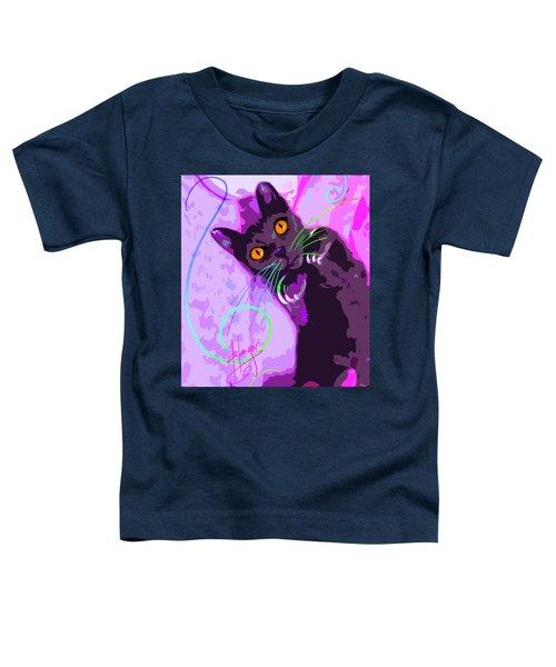 Pop Cat Angel Toddler T-Shirt
