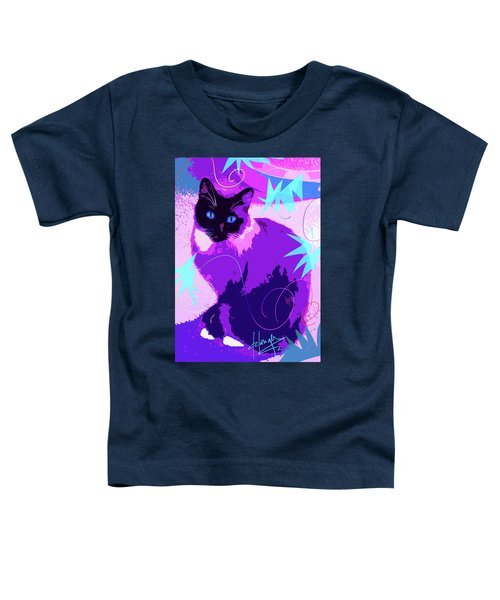 Pop Cat Cocoa Toddler T-Shirt