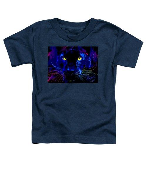 pOpCat Black Panther Toddler T-Shirt