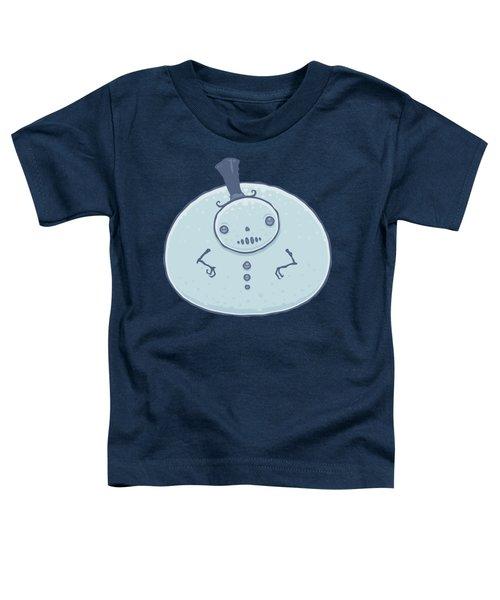 Pudgy Snowman Toddler T-Shirt