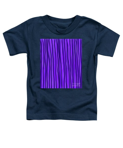 Purple Lines Toddler T-Shirt