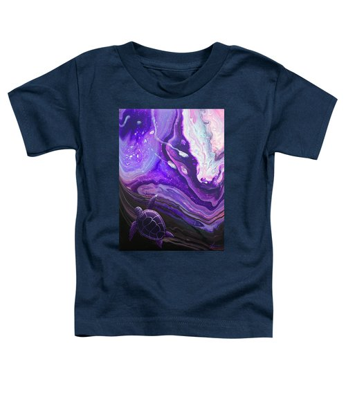 Purple Munchkin Toddler T-Shirt