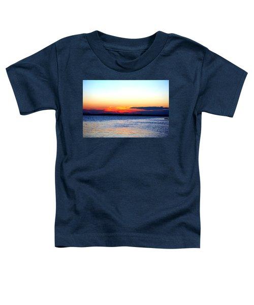 Radiant Sunset Toddler T-Shirt