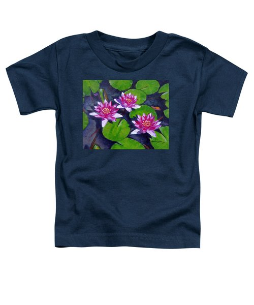 Rancho Water Lilies Toddler T-Shirt