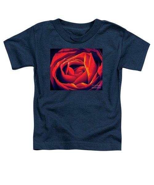 Rose Ablaze Toddler T-Shirt