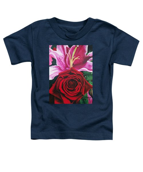 Scarlet Knight And A  Lily  Toddler T-Shirt