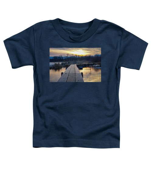 Simple Beauty Toddler T-Shirt