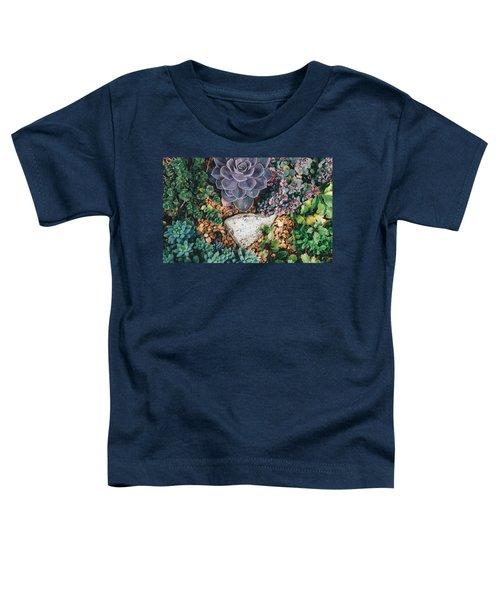 Small Succulent Garden Toddler T-Shirt
