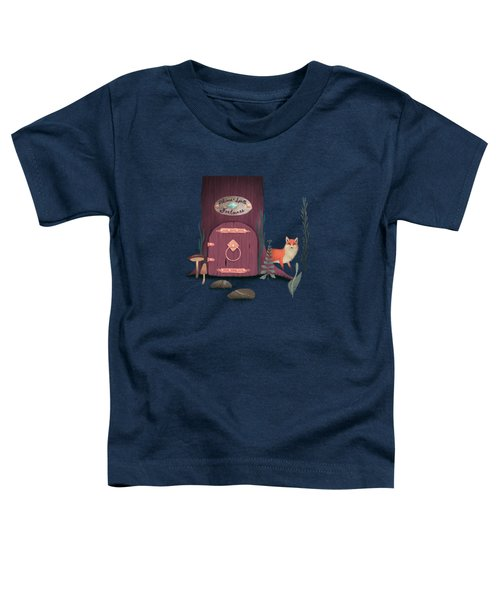 Sorcerer Of Woodland Charms Potions Spells And Fortunes Toddler T-Shirt