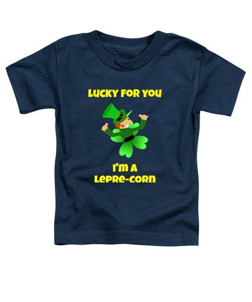St  Patricks Day Lucky Leprechaun Toddler T-Shirt